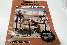 1986 SMALL AC GENERATOR Workshop Manual Honda Robin Kawasaki etc