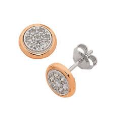 Cubic Zirconia Cubic Zirconia Gold Fine Earrings