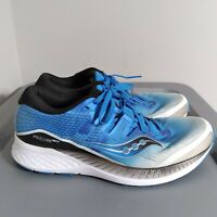 Saucony Ride Iso Men's Size 10.5 Running Shoes Blue/White/Black Sneakers