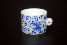 Hand Painted Porcelain Bird Feeder Bowl Cup for Chinese Bamboo Bird Cage Flower
