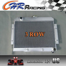 3 ROW Aluminum Radiator 1972-1986 Jeep CJ GM Chevy Config CONVERSION 73 74 75 76