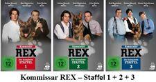 Kommissar Rex - Die komplette Staffel 1 + 2 + 3, 3 x 3 DVD Box NEU + OVP!