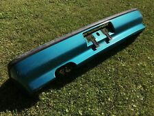 USDM OEM 88-91 Honda Civic REAR BUMPER COVER Tahitian Green RARE ED EF Factory