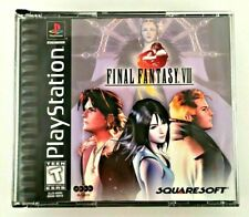 Original Genuine Black Label Final Fantasy 8 Playstation PS1 RPG Game Complete