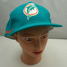 Miami Dolphins Hat Blue Fitted 7 5/8 Stitched Baseball Cap Pre-Owned ST20