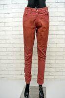 Pantalone Vita Alta JECKERSON Donna Taglia 42 Jeans Pants Women's Casual Italy