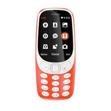 Nokia 3310 Rosso Telefono Cellulare con Tasti Single SIM