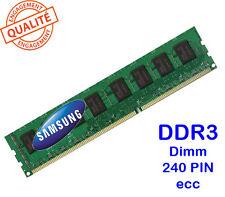 Mémoire Samsung 2GO/GB DDR3 PC3-10600 240PIN 1333 M378B5773CH0-CH9 pour PC