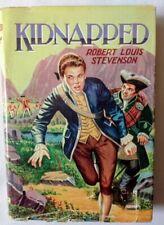 Vintage – Kidnapped by Robert Louis Stevenson, Dean & Son Ltd, HC DJ, c1970s