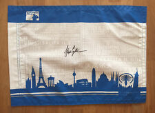Stephen GALLACHER Signed European Tour Golf Flag Autograph AFTAL COA