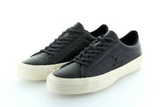 Converse Cons One Star Ox Almost Black Parchment Leather Gr. 42,5 / 43,5 US 9
