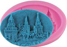 Hogwarts Castle Village Silicone Mold for Gum Paste, Fondant, Chocolate, Crafts
