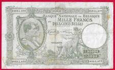 Bilj. 1000 Belg. Fr.  // 200 Belgas  23.09.42