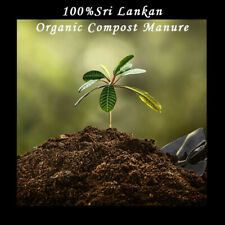 Organic Compost Manure 1KG- 100% Sri Lankan for Grow Healthy & Fertile Fruits,..