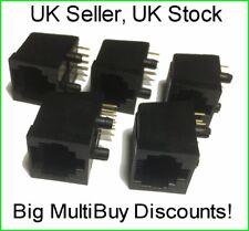RJ45 Socket PCB Mount - Pack of 5 - UK Seller - UK Stock - Big MultiBuy Discount