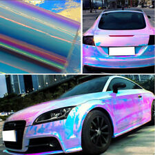 1.35*75CM Holographic Rainbow Neo Chrome Car Vinyl Wrap Bubble Free Sticker Film
