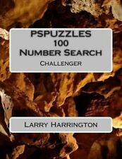 PSPUZZLES 100 Number Search Puzzles Challenger by Larry Harrington (2013,...