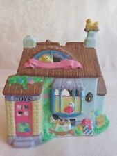 Easter Porcelain - Bunny Rabbit House - Tealight Candle Holder - Box