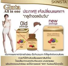90Tables Skinista All in One Gluta with Berry and Grapeseed Extract Dietary