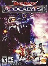 Video Game PC Mage Knight Apocalypse NEW SEALED BOX