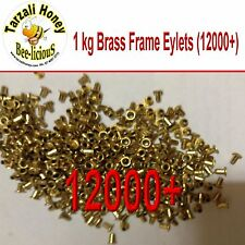 BEEKEEPING BRASS FRAME EYELETS 1 kg 12000 + FOR WOODEN FRAMES  BEE EQUIPMENT