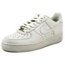 Air Force 1 100% Leather Lace Up Trainers for Women