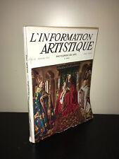 L'INFORMATION ARTISTIQUE N° 18 - Février 1955 ENCYCLOPEDIE DES ARTS - BC7C