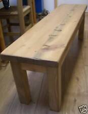 3FT OLD RUSTIC RECLAIMED PINE BENCH TO FIT UNDER TABLE