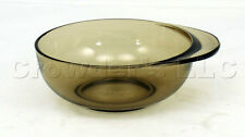 Small Pyrex Smoke Tinted Glass Mixing Stirring Bowl Dish - Made in England