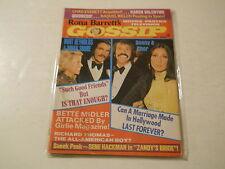 Raquel Welch, Bruce Lee, Sonny & Cher - Rona Barrett's Gossip Magazine 1974