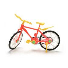 1 Stück kreative rot gelb Mountainbike für Barbies Puppen Zubehör  WRDE