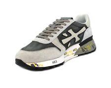 PREMIATA Scarpe uomo sneakers in camoscio grigio e beige MICK-4952