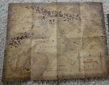 """HERR DER RINGE Landkarte """"EAST GONDOR"""" MAP OF MIDDLE-EARTH"""