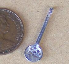 Échelle 1:12 en métal argenté fatiguer cuillère maison de poupées miniature cuisine accessoire r