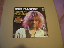 "PETER FRAMPTON - THE LONG AND WINDING ROAD - 7"" P/S - GERMAN PRESSING"