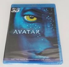 AVATAR 3D BLU RAY PROMO  SEALED COPY. Panasonic Exclusive