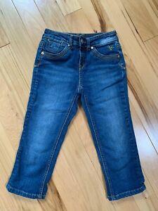 JUSTICE Denim Capri/Crop Pants Sz 10S Girls Simply Low Style