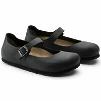 BIRKENSTOCK SHOES MANTOVA NERO BLACK BALLERINE ORIGINALI SCARPE DONNA RAGAZZA