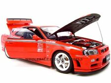 NISSAN SKYLINE NISMO R-TUNE GTR R34 RED 1:18 DIECAST MODEL CAR AUTOART 77357