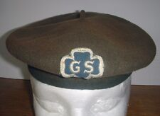 Scarce WWII Era Girl Scouts of America Beret in Olive Drab Wool