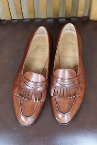 Barely Worn Vintage Edward Green / Wildsmith Size 9D / 8.5E Loafers- Antique Oak
