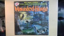 Walt Disney Studios' Chilling, Thrilling, Sounds of the HAUNTED HOUSE LP 1979