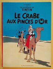 TINTIN - LE CRABE AUX PINCES D'OR - édition B38 bis 1969 - TBE