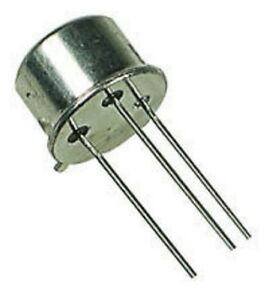 Un lot de 4 transistors Motorola BFY51 - NPN - 60V - 1A