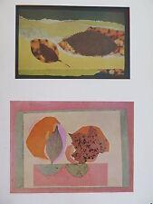 Josef Albers Original Silkscreen Folder XXV-1/Right Interaction of Color 1963