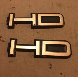 Chevy 3500 HD Door Emblem Pair 88-02