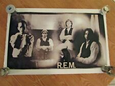 R.E.M. band poster