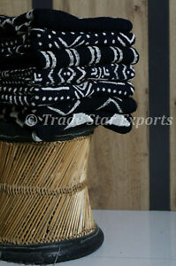 Hand Block Print Cotton Throw Luxurious Black & White Blanket Housewarming Gifts