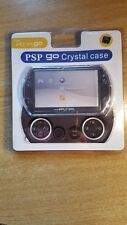 PSP Go Crystal Case 100% Clear, transparent hard shell, protective case, cover