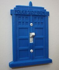 Doctor Who Tardis Light Switch Cover Plate Toggle Home Office Decor